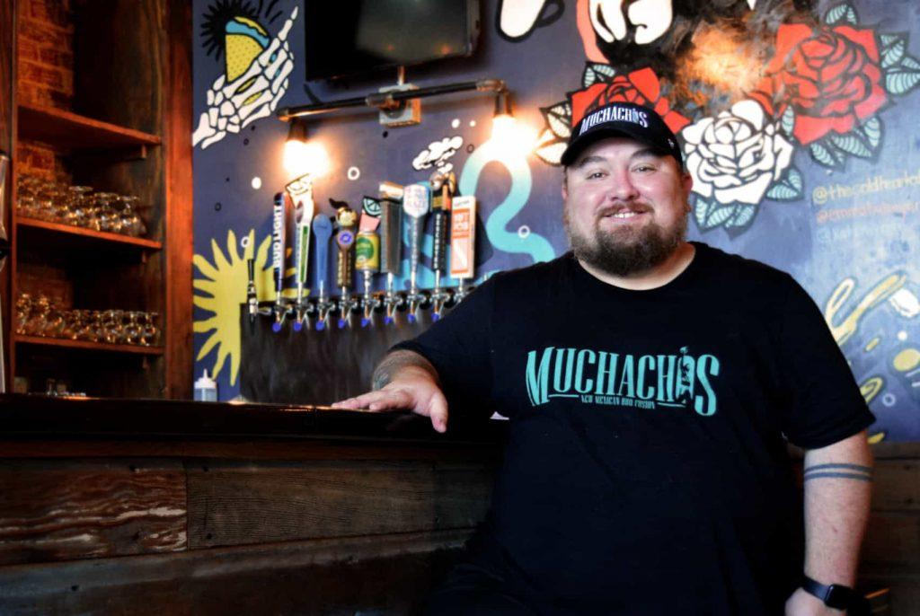 Owner of Muchachos, Nick Maestas
